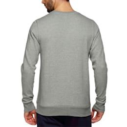 Archive Logo Men's Fleece Sweater, Medium Gray Heather, small-IND