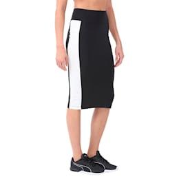 Women's Archive Logo Pencil Skirt, Puma Black, small-IND