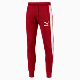 Archive Men's T7 Track Pants, Red Dahlia, small