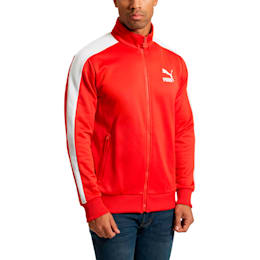 Archive Men's T7 Track Jacket, Flame Scarlet, small
