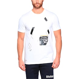 BMW M Graphic Tee, Puma White, small-IND