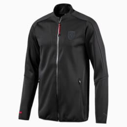 Ferrari Lifestyle Men's T7 Track Jacket, Moonless Night, small-IND
