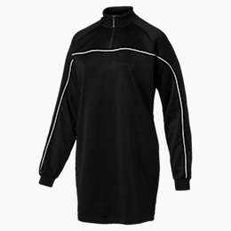 Archive Women's Turtleneck Sweater Dress, Puma Black, small-IND