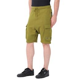 PUMA x NATUREL Men's Shorts, Avocado, small-IND