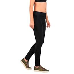 Classics Women's Winterized ArchiveT7 Leggings, Cotton Black, small-IND
