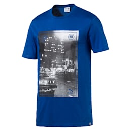 Brand Photo Tee, TRUE BLUE, small-IND