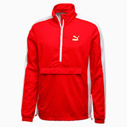 T7 BBoy Track Jacket, Flame Scarlet-white, small-IND