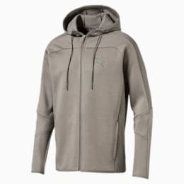 Pace Net FULL ZIP Men's Hoodie, Castor Gray, small-IND