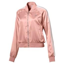 En Pointe Satin T7 Women's Jacket, Peach Beige, small-IND