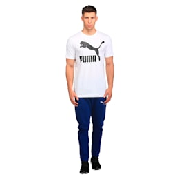 Archive Logo Tee Print, Puma White, small-IND