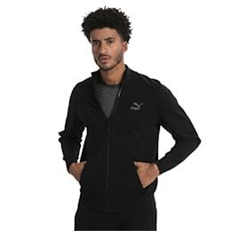 Men's T7 evoKnit Jacket, Puma Black, small-IND