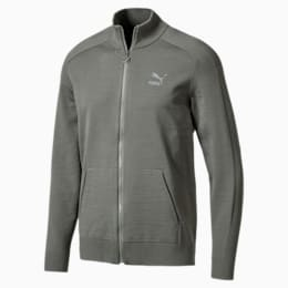 Men's T7 evoKnit Jacket, Castor Gray, small