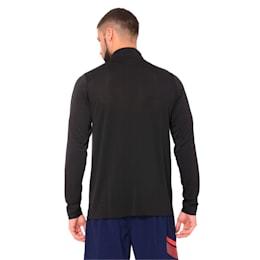 Golf Men's evoKNIT Essential 1/4 Zip Sweater, Puma Black, small-IND