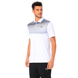 Golf Men's PWRCOOL Refraction Polo, Sodalite Blue, small-IND
