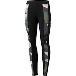 Classics T7 All-Over Print Women's Leggings, Iron Gate, small
