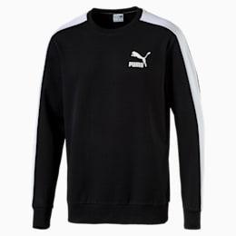 Classics Men's T7 Logo Sweater, Puma Black, small