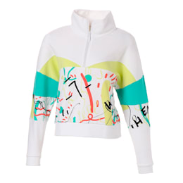 PUMA x SHANTELL MARTIN HZ SWEATER, Puma White, small-JPN