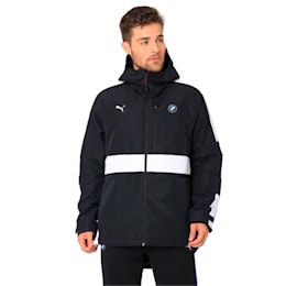 BMW MMS RCT Zip-Up Men's Hooded Jacket, Anthracite, small-IND