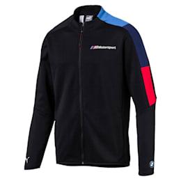 BMW M Motorsport Men's T7 Track Jacket, Anthracite, small-IND