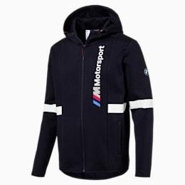 BMW Zip-Up Men's Hoodie, Team Blue, small-IND