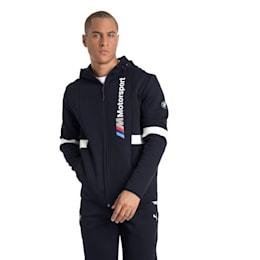 BMW Zip-Up Men's Hoodie, Team Blue, small