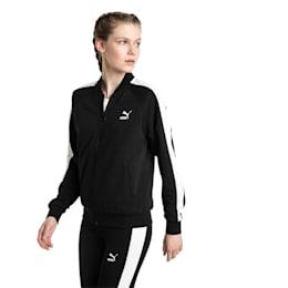 Classics T7 Women's Track Jacket, Cotton Black, small-IND