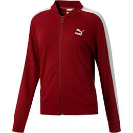 Classics T7 Women's Track Jacket, Pomegranate, small