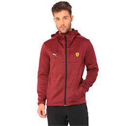 Ferrari Men's Street Softshell Jacket, Pomegranate Heather, small-IND