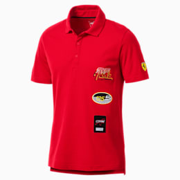 Scuderia Ferrari Men's Street Polo