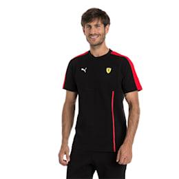 Ferrari Men's T7 T-Shirt, Puma Black, small-IND