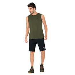 VK Logo Sleeveless, Olive Night, small-IND