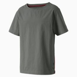 SFXX01 WOVEN ACTIVE TEE, Castor Gray, small-IND