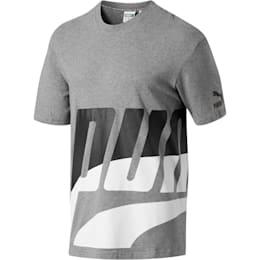 Men's Loud T-Shirt, Medium Gray Heather, small
