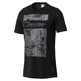 Graphic Pace Tee Box Cotton Black, Cotton Black, small-IND