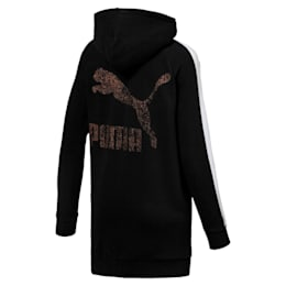 Kiss Artica T7 Zip-Up Women's Hoodie, Cotton Black, small-IND