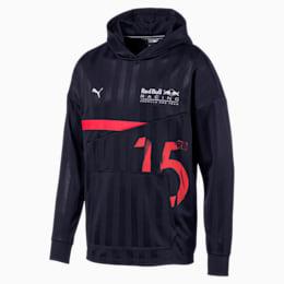 Red Bull Racing Lifestyle-jakke med hætte og mellemlag til mænd