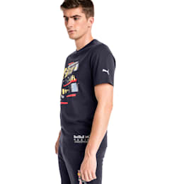 Red Bull Racing Life Graphic Men's Tee, NIGHT SKY, small