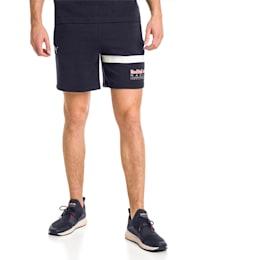 Red Bull Racing Logo Men's Sweat Shorts, NIGHT SKY, small-IND