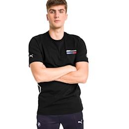 BMW M Motorsport Lifestyle Men's Graphic Tee, Puma Black, small-SEA