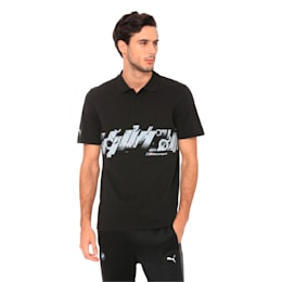 BMW MMS Graphic Polo, Puma Black, small-IND