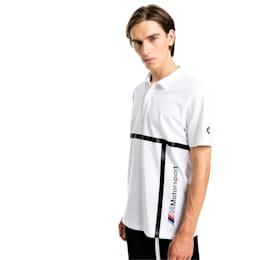 BMW Motorsport Men's Polo Shirt, Puma White, small-IND