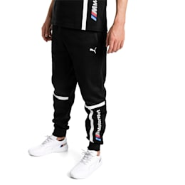 BMW Motorsport Knitted Men's Sweatpants, Puma Black, small