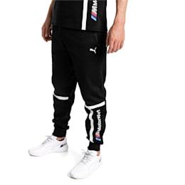 BMW Motorsport Knitted Men's Sweatpants, Puma Black, small-IND