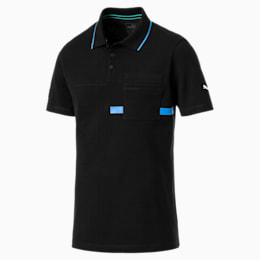 MERCEDES AMG PETRONAS Men's Polo Shirt, Puma Black, small