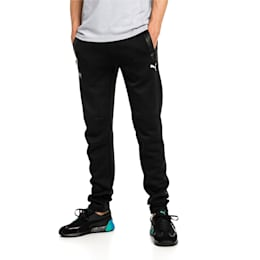 Mercedes AMG Petronas Knitted Men's Sweatpants, Puma Black, small-IND