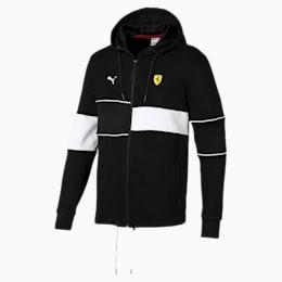 Ferrari Hooded Zip-Up Men's Jacket