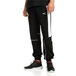 Ferrari Knitted Men's Sweatpants, Puma Black, small-IND