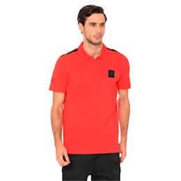 Ferrari Men's Polo Shirt, Rosso Corsa, small-IND