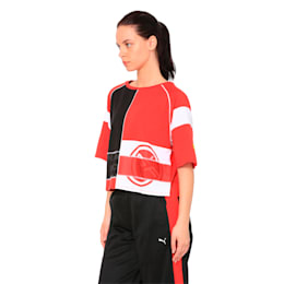 SF Wmn Street Tee, Rosso Corsa, small-IND