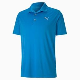 Rotation-golfpolo til mænd, Ibiza Blue, small